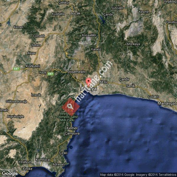 Antalya haritası [3]