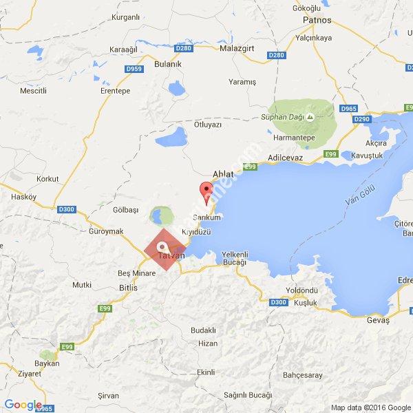 Bitlis haritası [1]