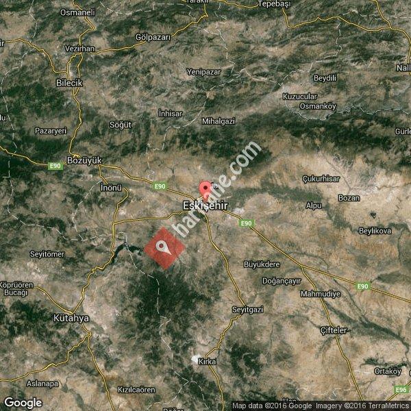 Eskişehir haritası [3]