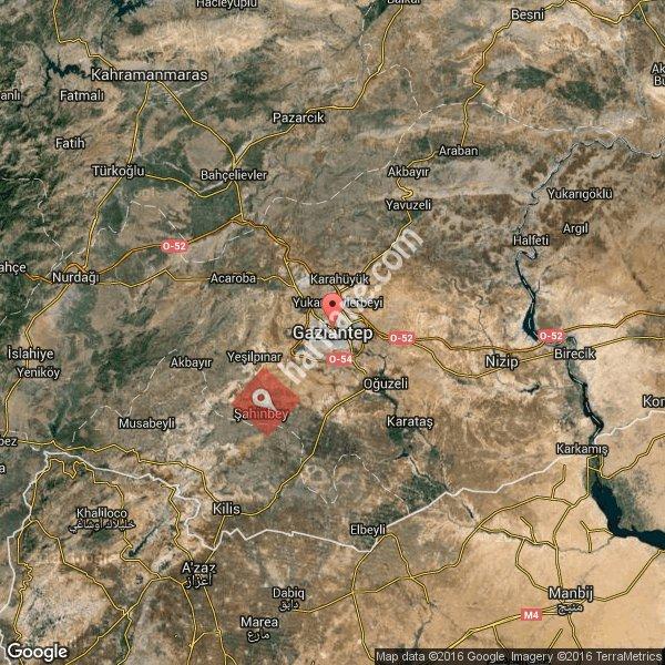 Gaziantep haritası [3]