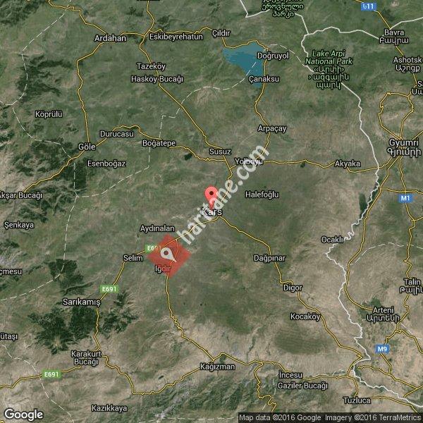 Kars haritası [3]