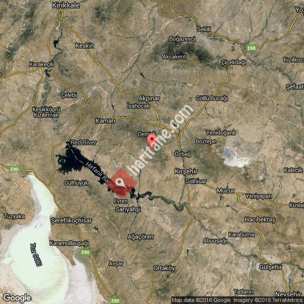Kırşehir haritası [3]