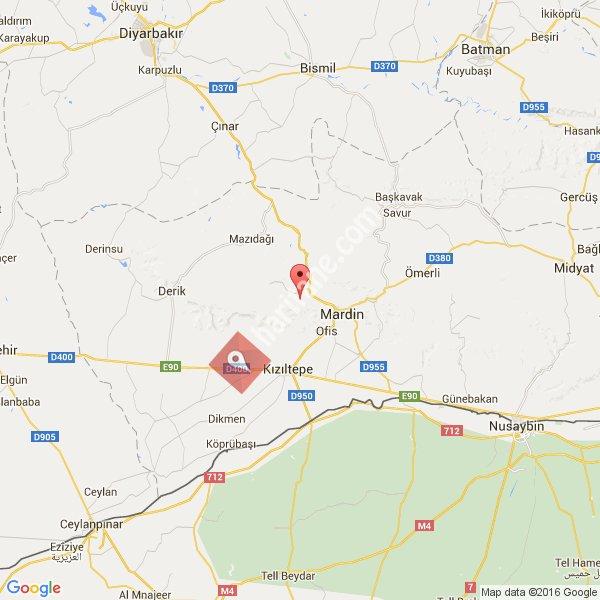 Mardin haritası [1]