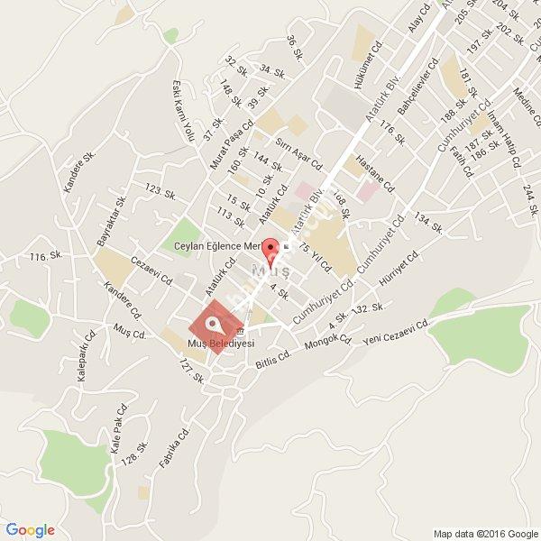 Muş haritası [1]