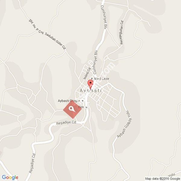 Aybastı haritası [1]