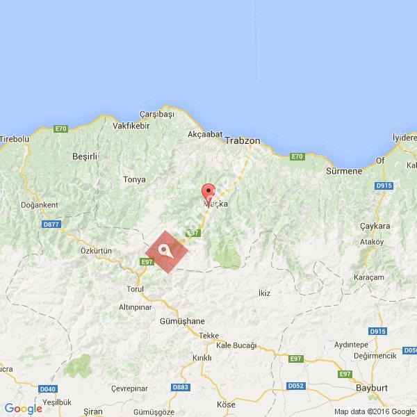 Trabzon haritası [1]