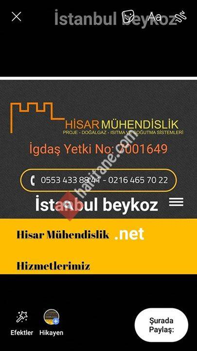 Beykoz Doğalgaz Tesisatı 0553 433 88 41