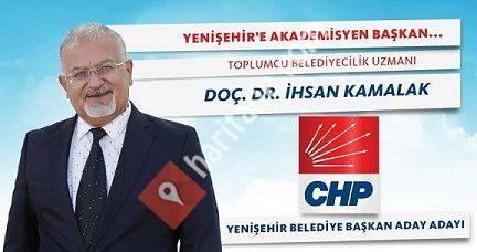 Doç Dr İhsan Kamalak - Yenişehir'e Akademisyen Başkan-