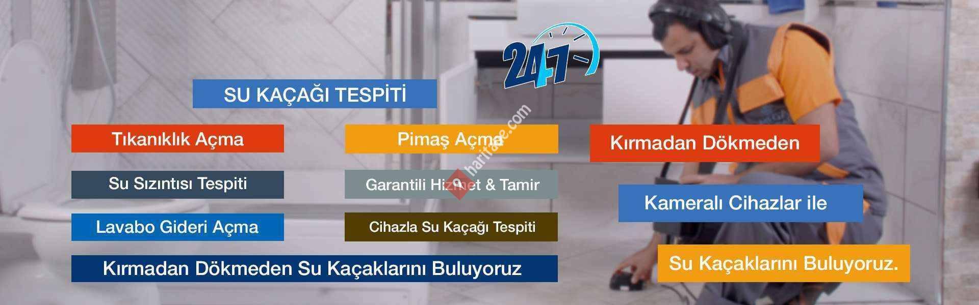 KARTAL SU KAÇAĞI TESPİTİ - KARTAL TIKANIKLIK AÇMA