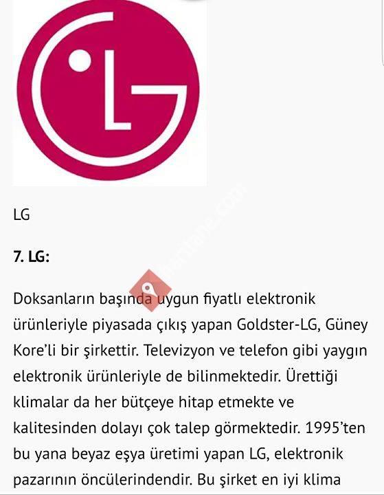 LG Electronics KLİMA  / İKİKARDES İKLİMLENDİRME