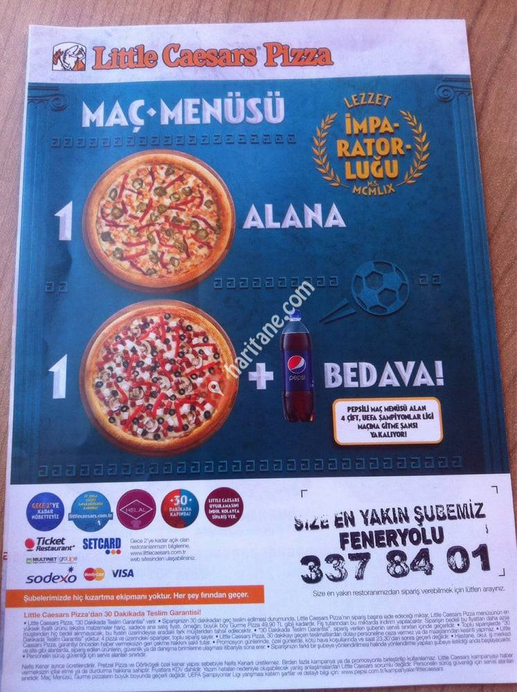 Little Caesars Pizza Feneryolu Mah