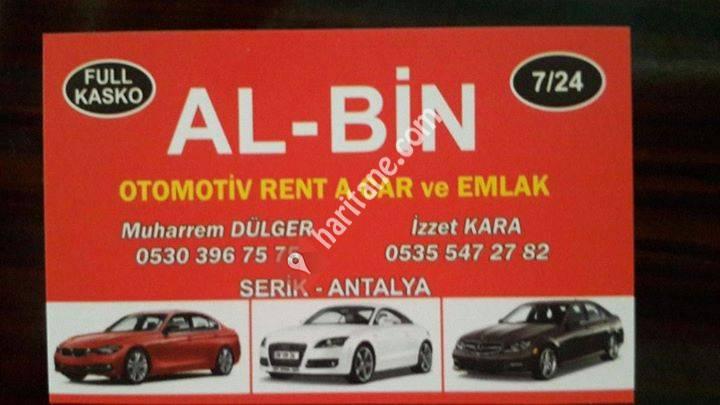 Serik Al Bin Otomotiv Rent a Car