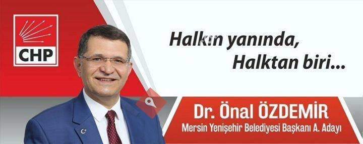 Yenişehir Belediye Başkan A.Adayı Dr. Önal Özdemir